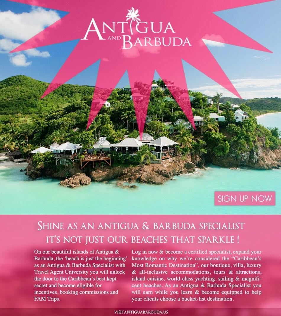 Antigua & Barbuda Travel Agent Specialist Program.
