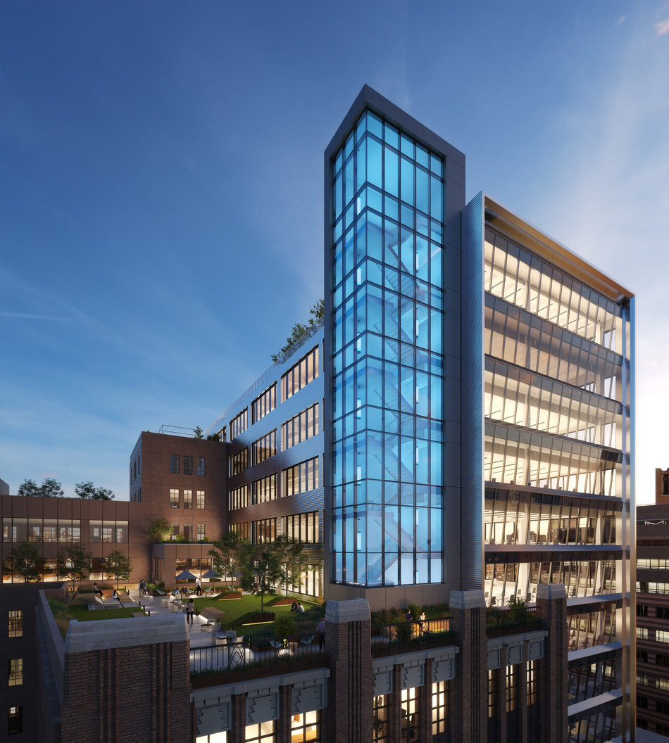 """Tishman Speyer Unveils Plans For """"The Wheeler,"""" An Office Campus in Downtown Brooklyn"""