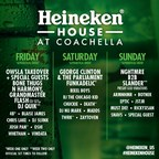 George Clinton & The Parliament Funkadelic To Headline Heineken House