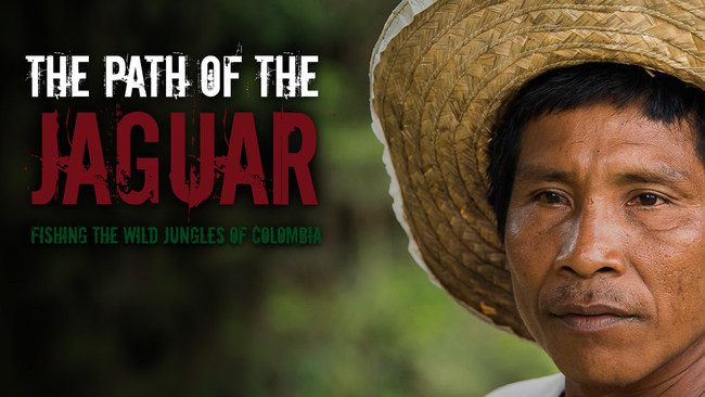 Indigenous person in the colombian jungles