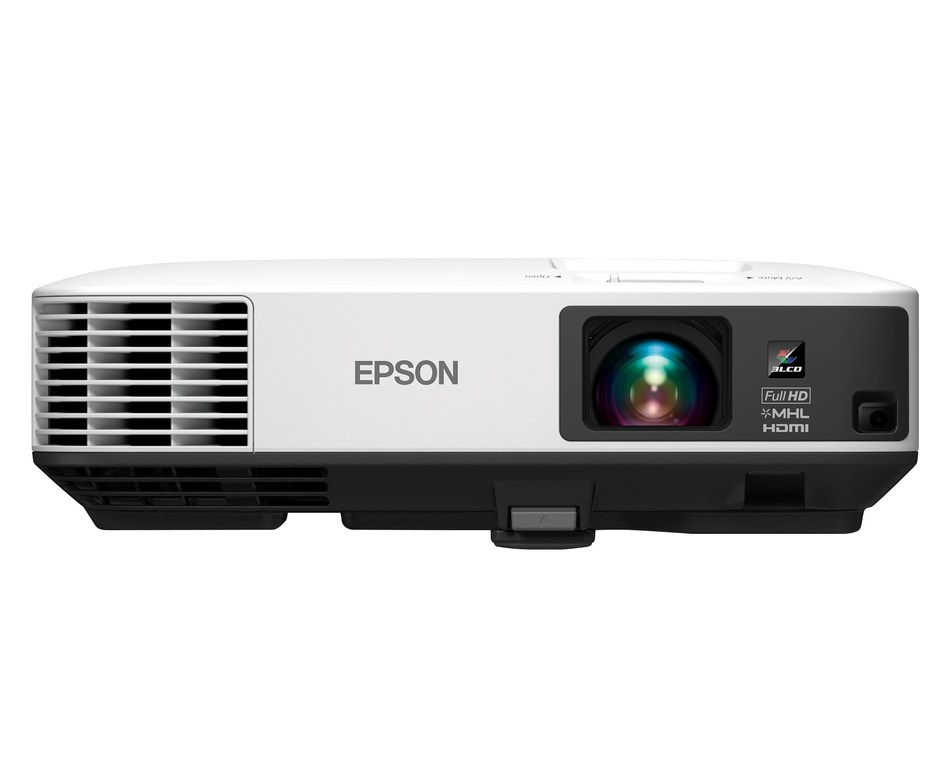 Epson ultra-bright Home Cinema 1450 projector offers versatile performance for immersive sports games, streaming and video games with friends.