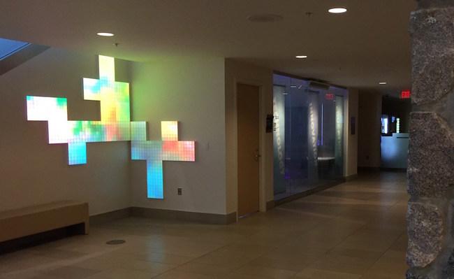 DigitalCanvas Installation at GVSU Michigan