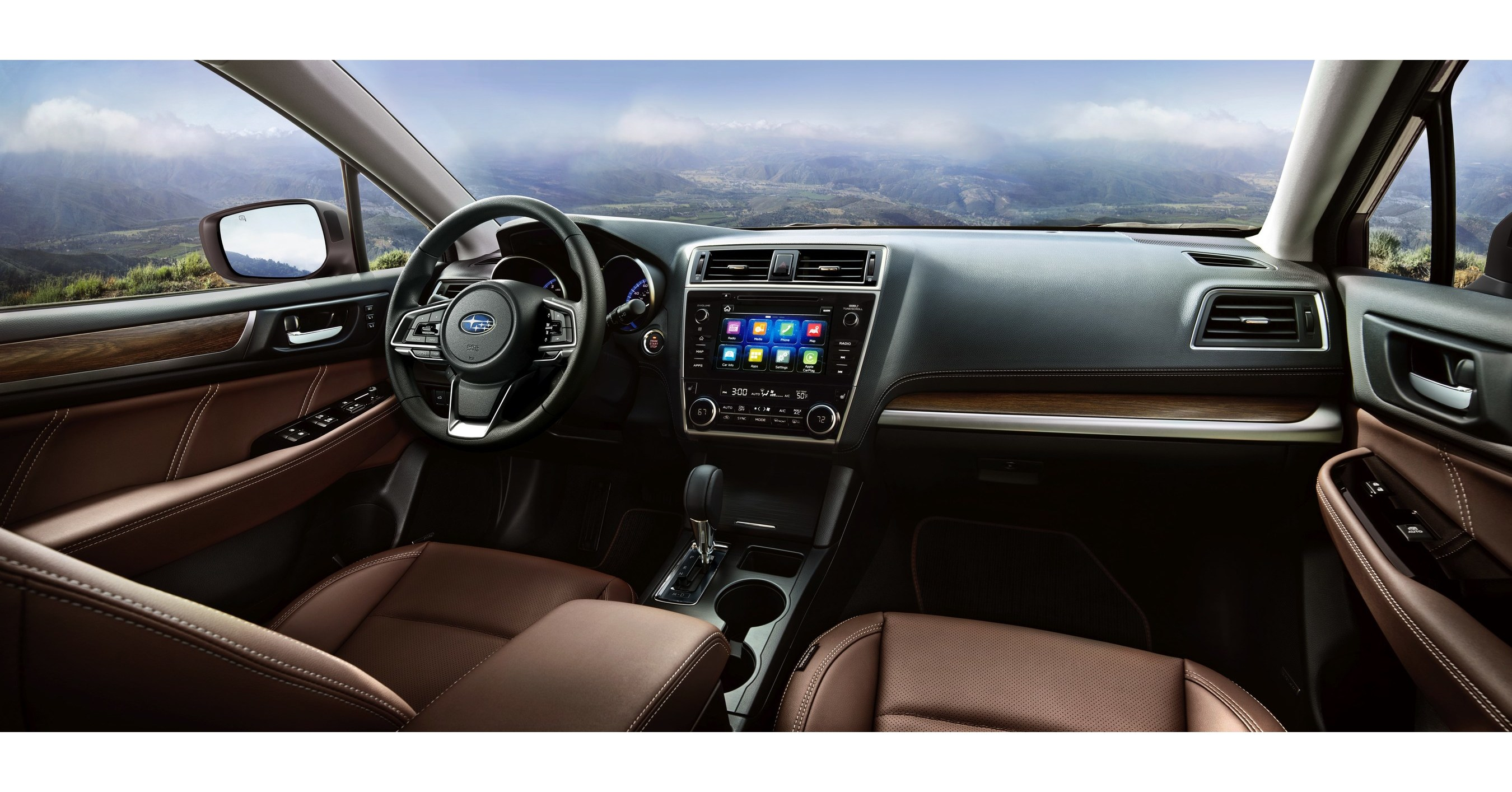 2018 subaru sti interior. simple interior subaru debuts 2018 outback with more rugged styling new safety features  premium interior and in subaru sti interior