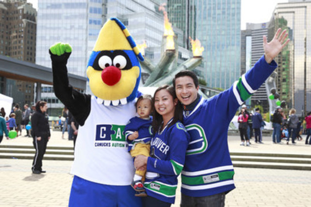 The public is invited to celebrate Autism Awareness Month with the Canucks Autism Network on Sunday, April 9th (CNW Group/Canucks Autism Network)