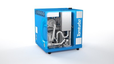 Tamturbo Oil-Less High Speed Turbo Compressor (PRNewsFoto/Tamturbo Oy)