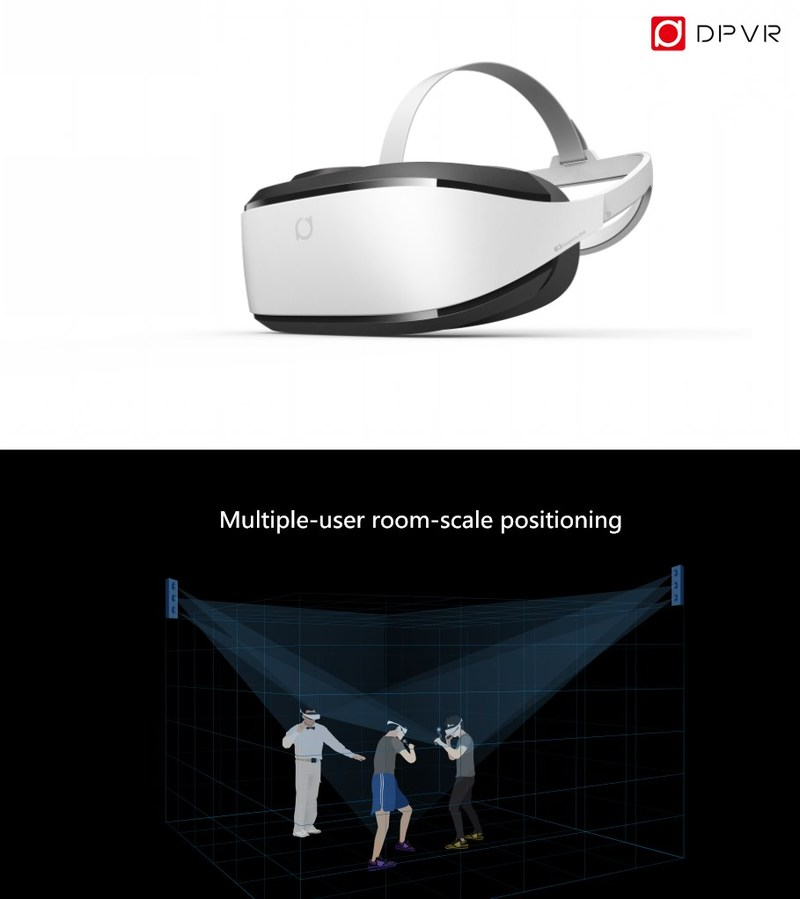 China's DPVR (formerly Deepoon) Launches New PCVR Headset E3