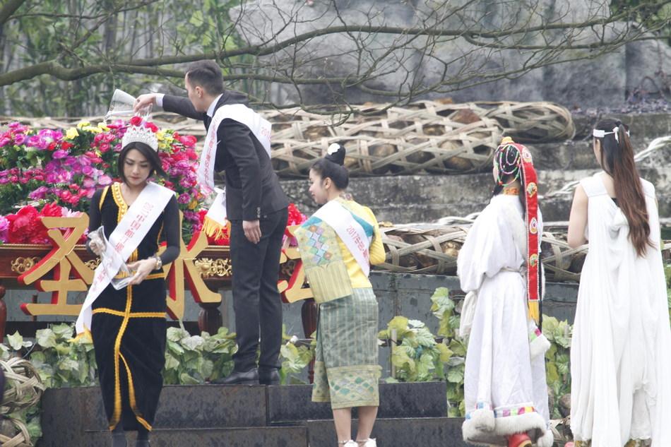 Dujiangyan Water-Releasing Festival, China, 2017
