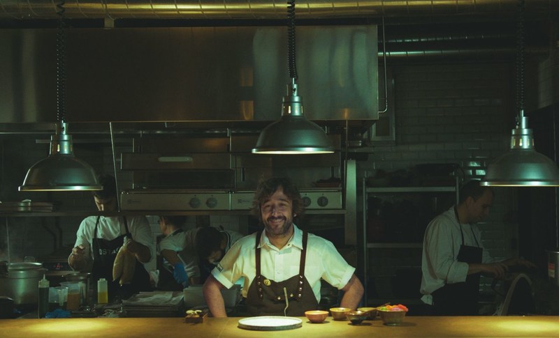 """Diego Guerrero the two Michelin star Chef in his kitchen in DSTAgE, Madrid. He said of The Art of Slow philosophy: """"I have learnt that it's really important to leave the kitchen, to disconnect, so that you can go back to it again."""" (PRNewsFoto/Zacapa)"""