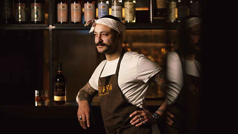 Diego Rossi, Head chef at Trippa, Milan features in the new short documentary series, 'The Art of Slow,' from super deluxe rum, Zacapa. The series sets out to explore the stories of chefs, like Diego, who are pushing the creative boundaries of gastronomy. (PRNewsFoto/Zacapa)