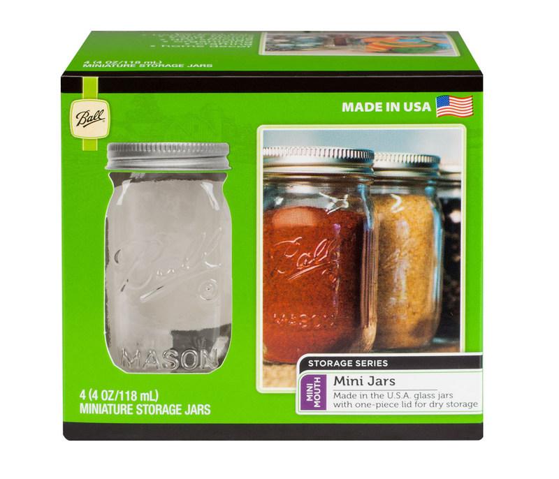 Ball(r) 4 oz. Miniature Storage Jar
