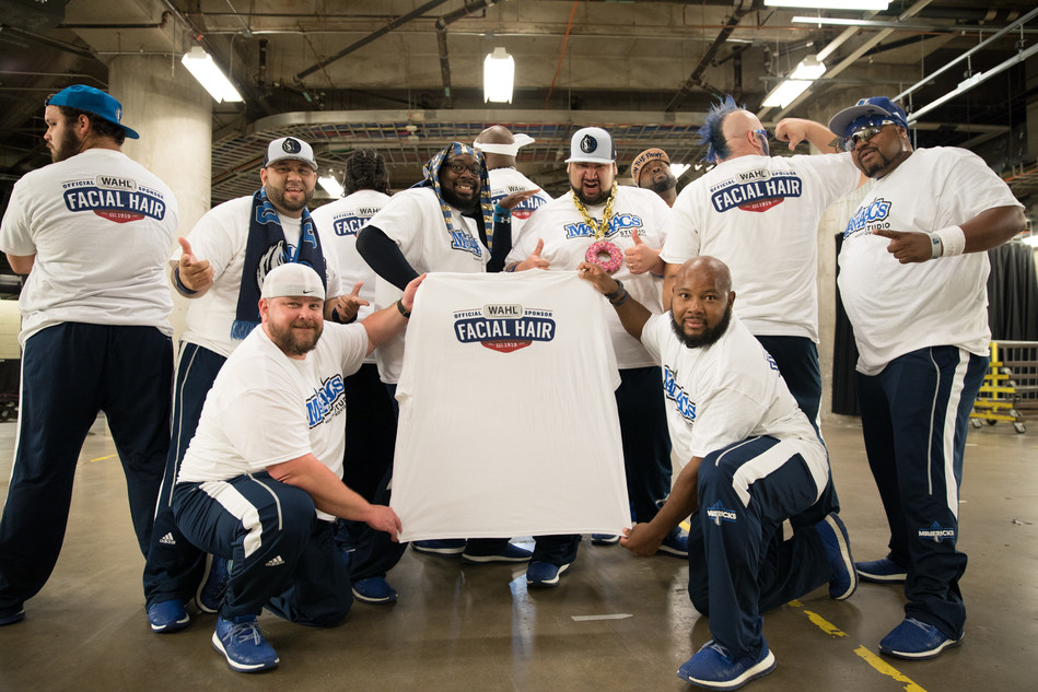 As part of their Wahl sponsorship, The Mavs ManiAACs will uphold the facial hair excellence they've come to be known for.
