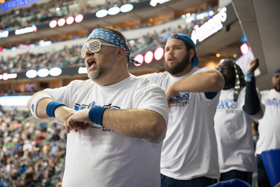 For the last 15 years The Mavs ManiAACs' contagious fanaticism has been a staple at Dallas Mavericks games.