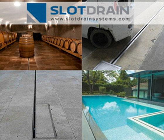 Slot Drain systems offers a suite of Grateless Trench Drains for audited facilities with safety concerns to landscapes that require aesthetics and invisible drainage. (CNW Group/Slot Drain Systems Ltd.)