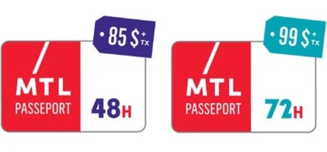 Passeport Montréal (Groupe CNW/Tourisme Montréal)