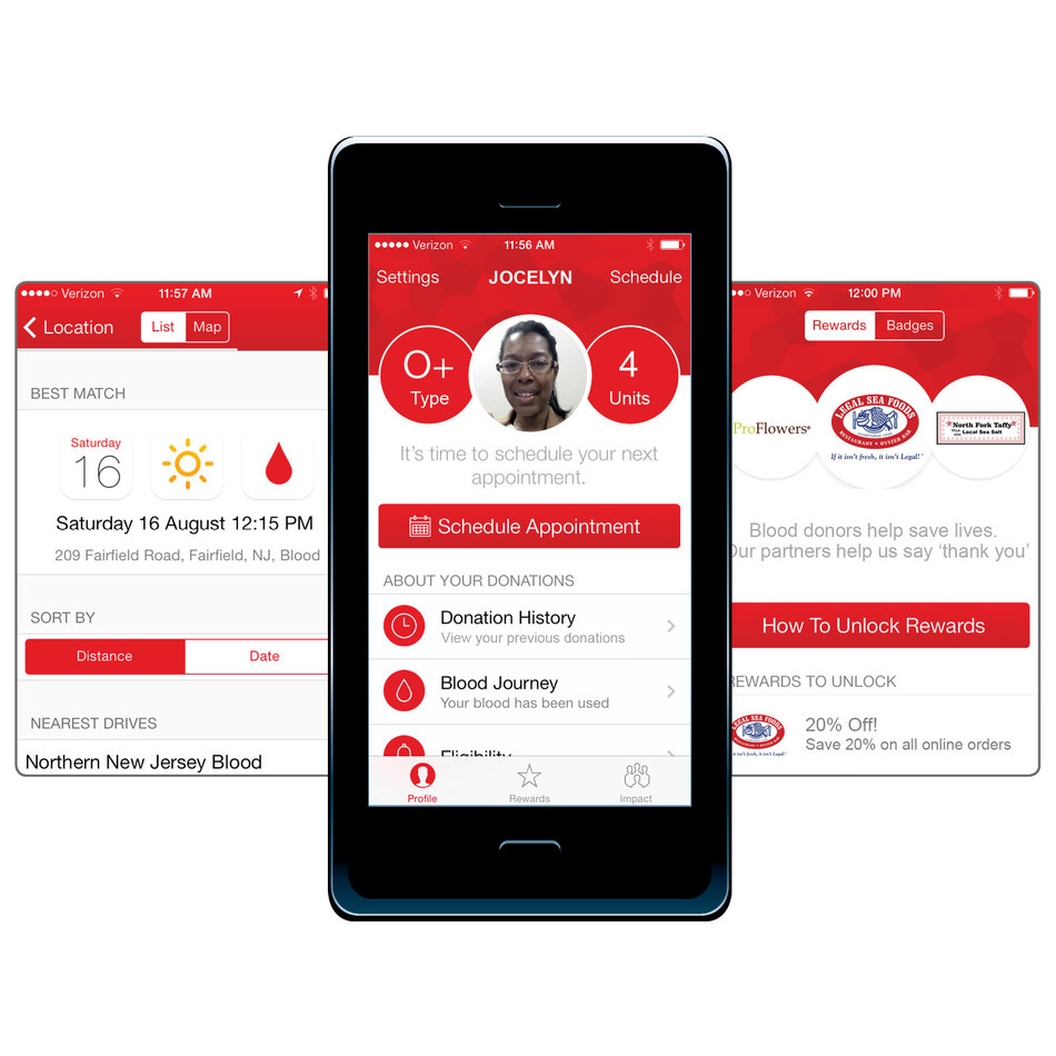 The American Red Cross Blood Donor App puts the power to save lives in the palm of your hand.