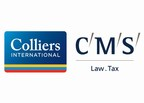 Colliers International and CMS Logo (PRNewsFoto/Colliers International and CMS)