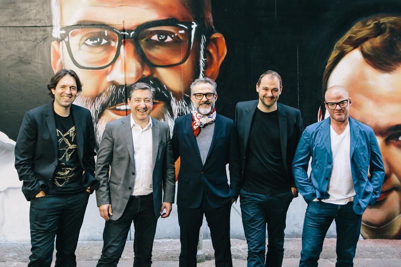 Chefs Ben Shewry, Joan Roca, Massimo Bottura, Daniel Humm, Heston Blumenthal - Higson Lane, Melbourne