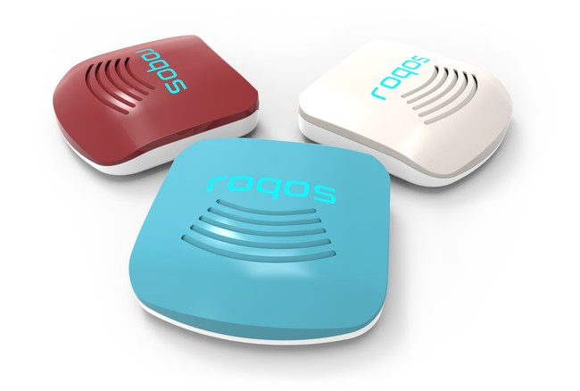 Roqos Core in three colors