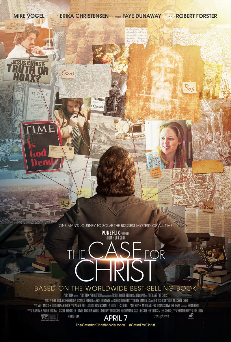 Pure Flix's The Case for Christ film opens nationwide in theaters on April 7th www.TheCaseforChristmovie.com