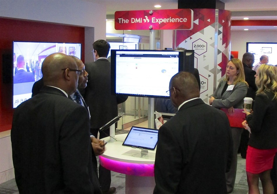 DMI customers are treated to live demonstrations of mobile services