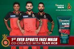 Himalaya Men and Royal Challengers Bangalore co-create India's first-ever facewash for Men with Active Lifestyle (PRNewsFoto/The Himalaya Drug Company)