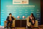 Hisense se convierte en el patrocinador oficial de la Copa Mundial de la FIFA 2018 (TM)