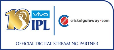 http://mma.prnewswire.com/media/487222/VIVO_IPL_2017_Official_Digital_Streaming_Partner_Cricket_Gateway_Logo.jpg?p=caption
