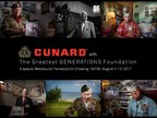 Cunard Partners with The Greatest GENERATIONS Foundation to Commemorate Service of World War II Veterans on August 4 Transatlantic Crossing