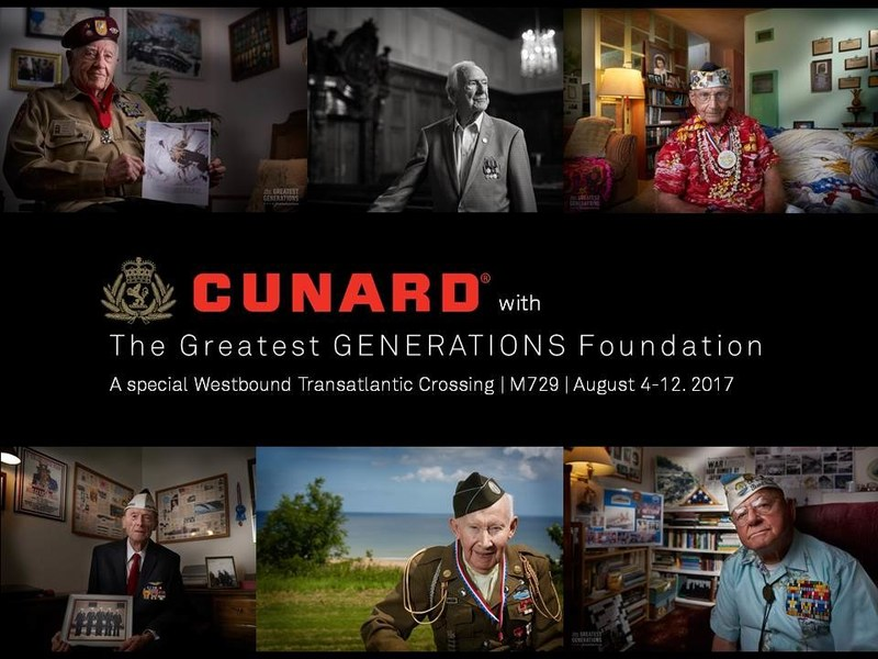 Cunard and The Greatest GENERATIONS Foundation