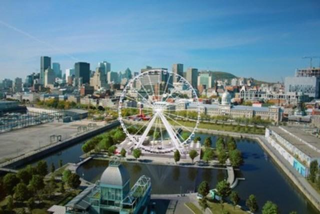 Cnw a new world class attraction at the old port of montreal ride the highest observation - Activite montreal vieux port ...