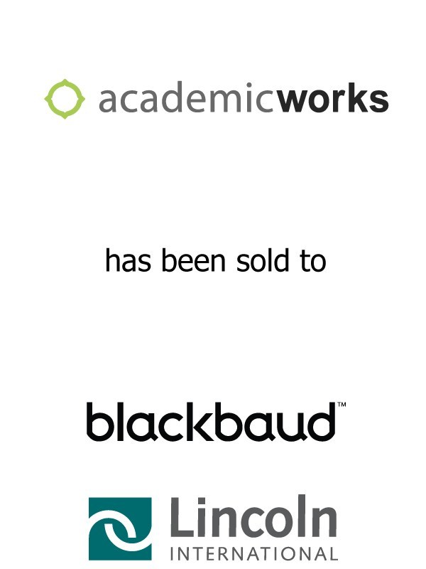 Lincoln International Represents AcademicWorks in its Sale to Blackbaud, Inc.