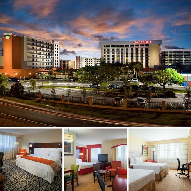 Three hotels at Marriott Miami Airport Campus are offering premium rates for stays with same-day arrival and departure. For information, visit http://deals.marriott.com/miami-marriott-airport-campus-day-rates.
