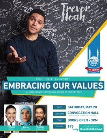 Trevor Noah (CNW Group/Islamic Relief Canada)