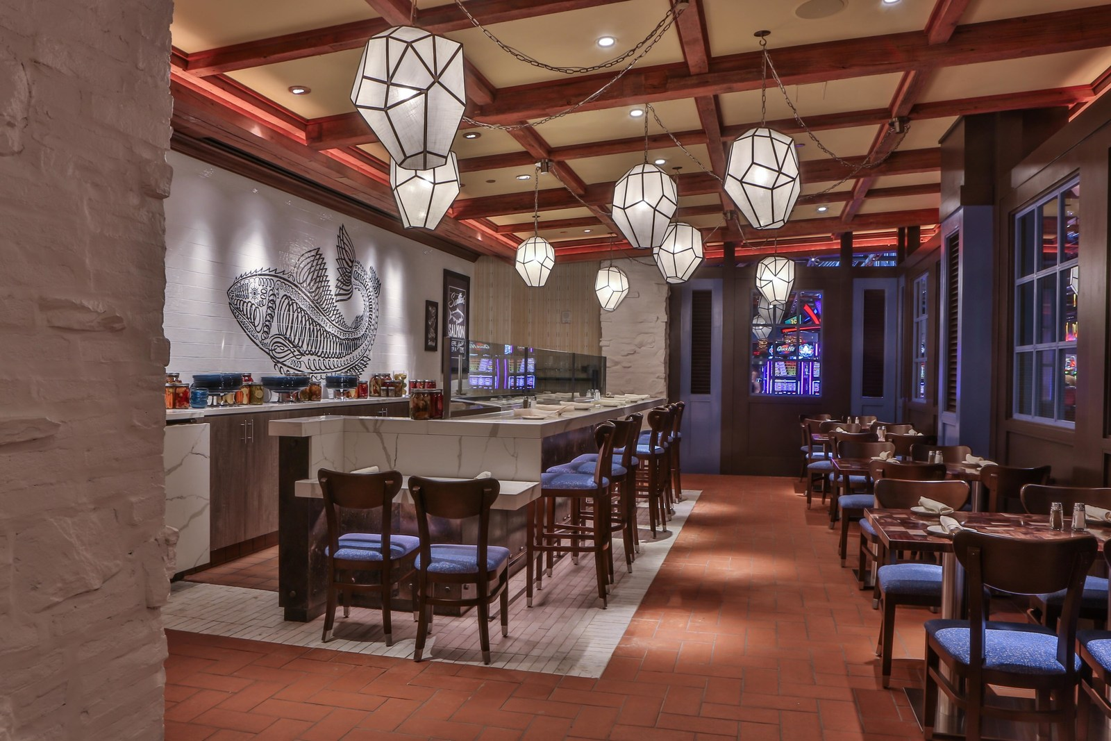 emeril s fish house at sands bethlehem reopens after three