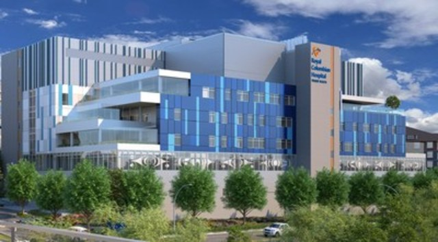 Mental Health and Substance Use Wellness Centre artist rendering (CNW Group/Royal Columbian Hospital Foundation)