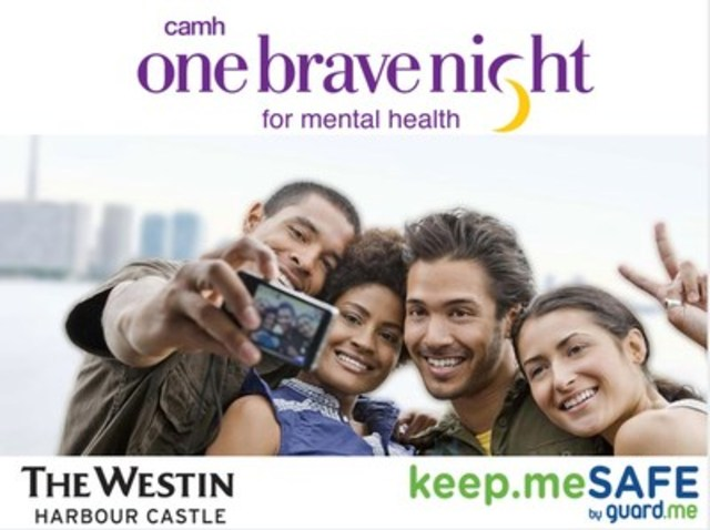 guard.me joins CAMH in #OneBraveNight at the Westin Harbour Castle Toronto (CNW Group/guard.me International Insurance)