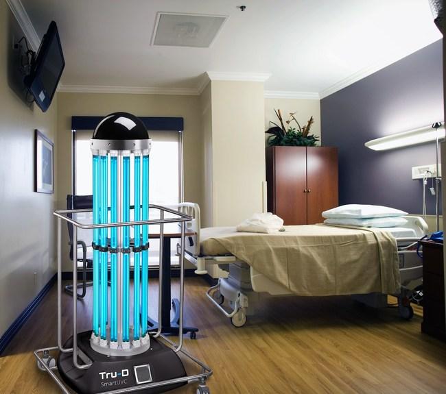 Tru-D in action in a patient room.