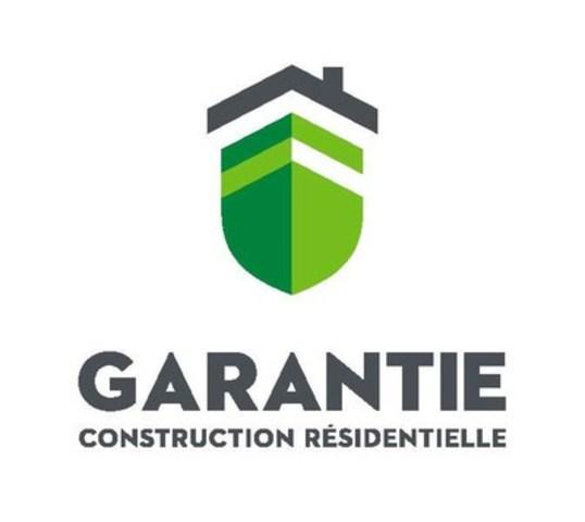 Garantie de construction résidetielle (GCR) (Groupe CNW/Garantie de construction résidentielle (GCR))