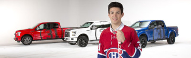 Discover the new and exclusive Carey Price F-150 collection. (CNW Group/Olivier Ford)
