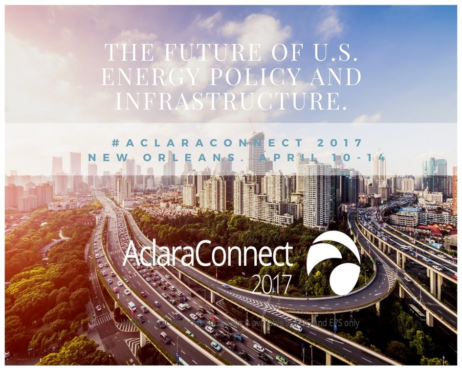 AclaraConnect 2017 conference attracts utility professionals worldwide, as well as new technology vendors, consultants, analysts and thought leaders. We expect to have approximately 900 attendees.