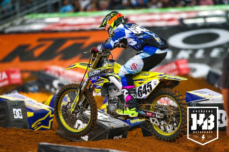 Cheyenne Harmon to join MicroBilt PRBC Yoshimura Suzuki Racing for Remainder of 2017 Monster Energy AMA Supercross, an FIM World Championship Season