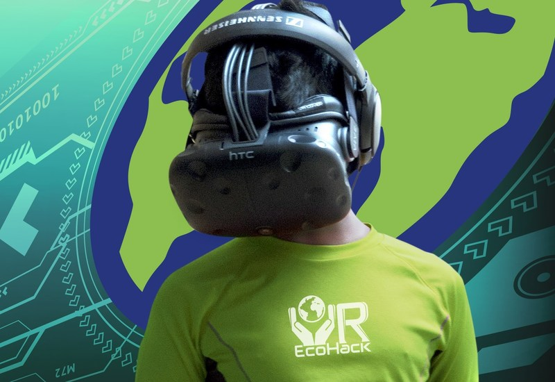 The first ever VR Ecohack brings ages 13 and up to Boston to create climate change education content in virtual reality-using VR, AR and 360 video during a three day weekend on Earth Day 2017.