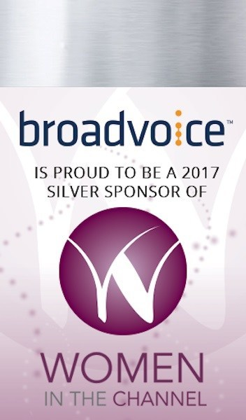 Broadvoice is proud to be a 2017 silver sponsor of women in the channel