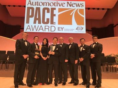 SANHUA Automotive Wins Automotive News' 2017 PACE Award