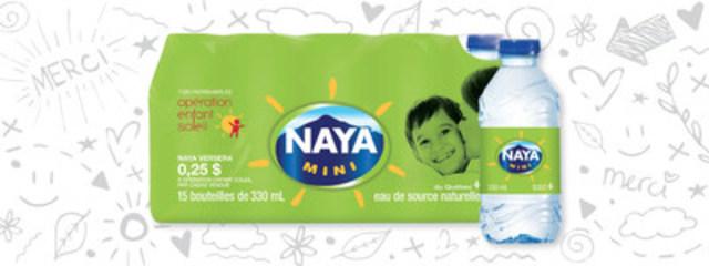 Naya Mini - 15 x 330 ml (Groupe CNW/Eaux Naya)