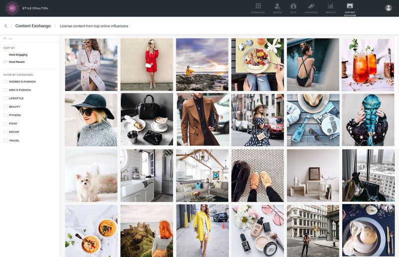 ContentExchange by Style Coalition - image gallery