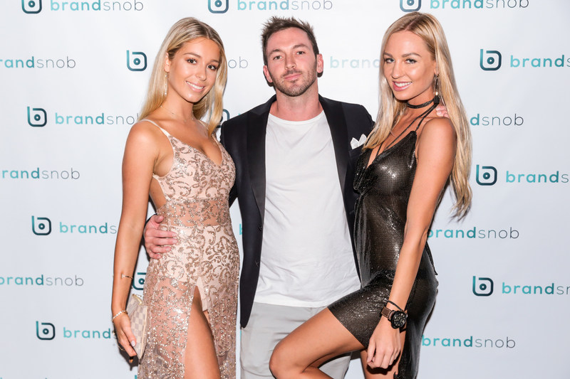 Alice Roberts, Mark Nicholas, and Camilla Akerberg at BrandSnob VIP Event