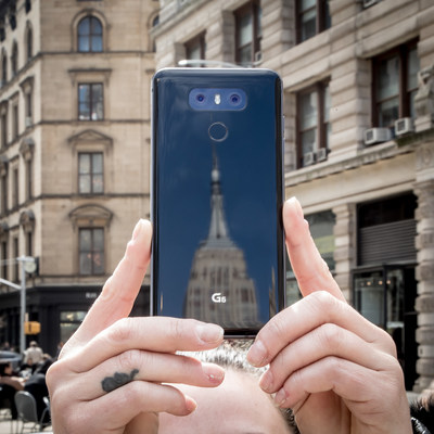 The Next Generation Smartphone, the LG G6, Is Now Available in the U.S.