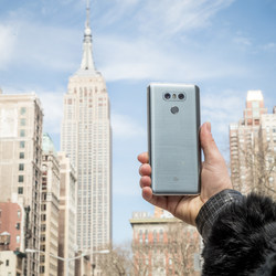 LG Electronics' newest smartphone, the LG G6 is available now.