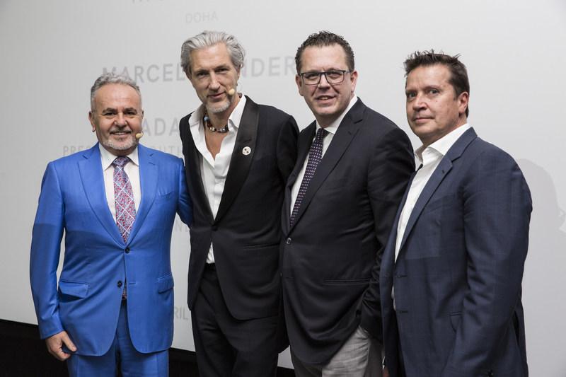 Wadah Azrak, Marcel Wanders, Michele Caniato, Joe Faust
